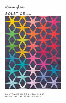 Solstice Quilt by Alison Glass - Printed Pattern