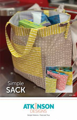 Simple Sack By Atkinson, Terry - Printed Pattern
