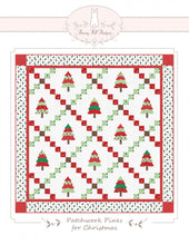Load image into Gallery viewer, Patchwork Pines For Christmas - Printed Pattern