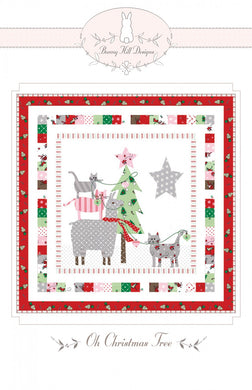 Oh Christmas Tree Bunny Hill Mini Pattern - Printed Pattern