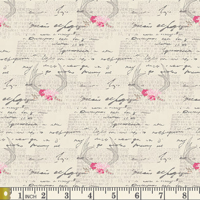 Art Gallery Fabrics - Amorous Manuscript  - Fabric by the Yard