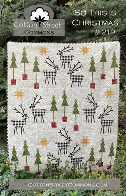 So This is Christmas - Printed Pattern