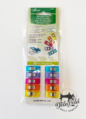 Wonder Clips Assorted Colors 10pc