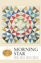 Load image into Gallery viewer, Morning Star by Hruska, Dorie - Printed Pattern