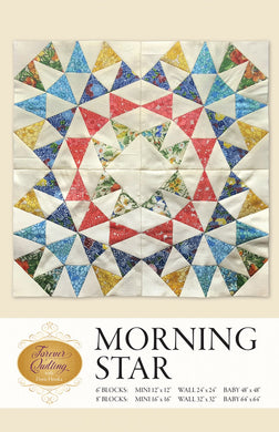 Morning Star by Hruska, Dorie - Printed Pattern