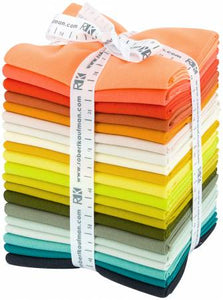 Fat Quarter Kona Solids Elizabeth Hartman Curated 20pcs/bundle