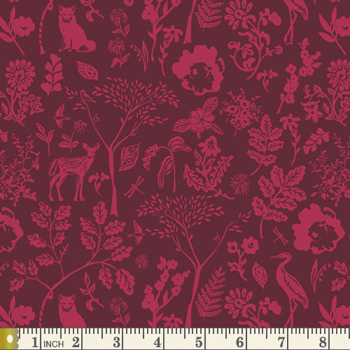 Art Gallery Fabrics - Flora and Fauna Foresta  - Fabric by the Yard