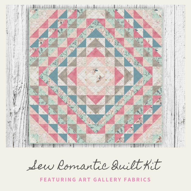 Sew Romantic Quilt Kit