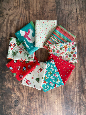 Let it Snow - Fat Quarter Bundle 9 pieces