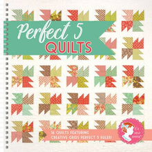 Load image into Gallery viewer, Perfect 5 Quilts Book