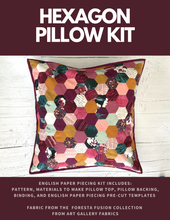 Load image into Gallery viewer, Hexagon Pillow - KIT