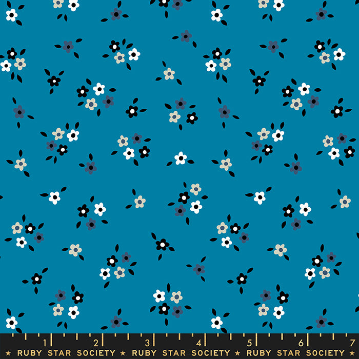 Liana Bright Blue RS3012 14 - Fabric by the Yard
