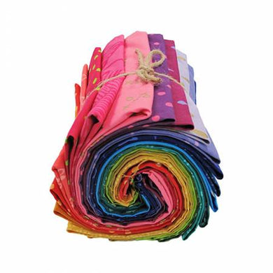 Fat Quarter, Indah Batiks, Rainbow, 20pcs/bundle