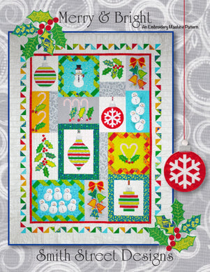 Merry and Bright Pattern By Connor, Kathleen - Embroidery Machine Pattern