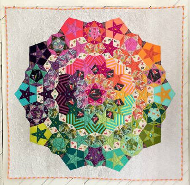 Paper Piece Pack for Tula Nova Complete Set and Pattern Included