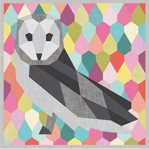 Barn Owl English Paper Piecing - Templates and Pattern