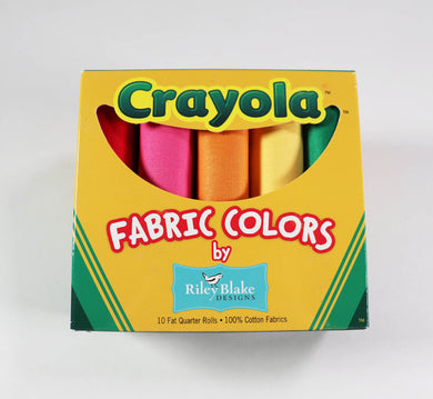 Crayola Fat Quarter box by Riley Blake
