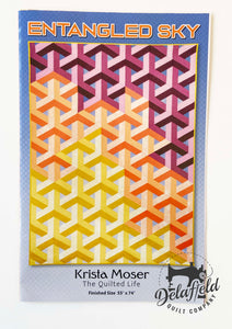 Entangled Sky - By Krista Moser - Printed Pattern