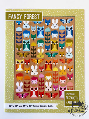 Fancy Forest  by Elizabeth Hartman - Printed Pattern