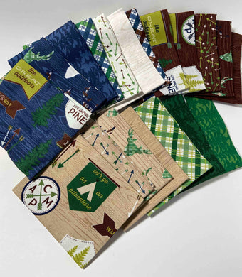 The Great Outdoors - Fat Quarter bundle- by Riley Blake Designs