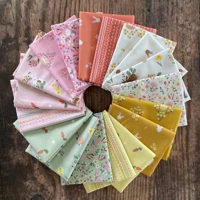 Easter Egg Hunt - fat quarter bundle 18 pieces