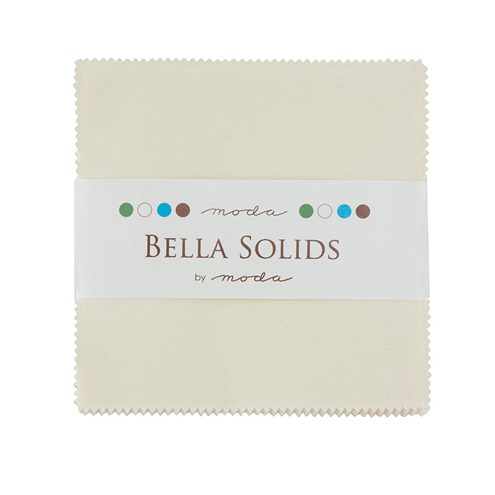 Bella Solids Charm Pack Ivory - 9900PP 60