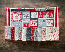 Load image into Gallery viewer, Scandi 2020 Half-Yard Bundle with Advent Calendar Panel