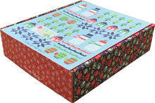 Load image into Gallery viewer, Snowman Sampler Quilt kit featuring Snow Day Fabric from Moda
