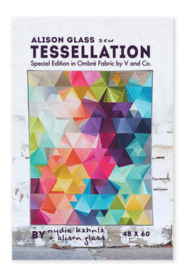 Tessellation Special Edition Quilt by Alison Glass and Nydia Kehnle - Printed Pattern