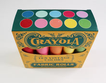 Load image into Gallery viewer, Confetti Cottons Vintage Crayola Fat Quarter Box by Riley Blake