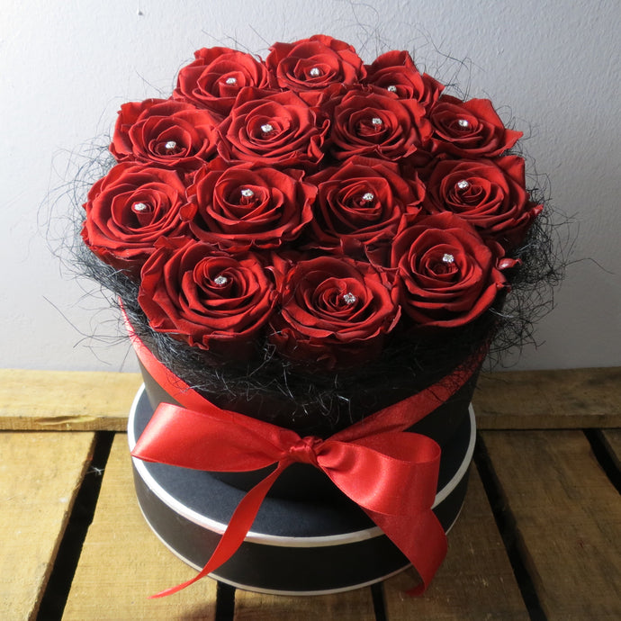 Preserved Rose (14) Hat Box