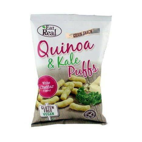Eat Real White Cheddar Quinoa & Kale Puff