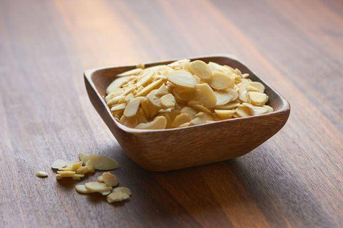 Sliced Blanched Almonds, Container