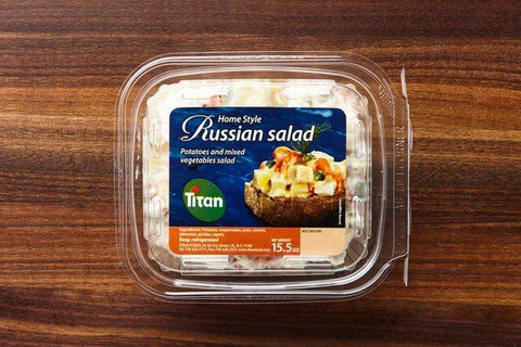Titan Homemade Russian Salad, Container