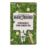 Heath and Heather Organic Pure Green Tea - 20 Tea Bags