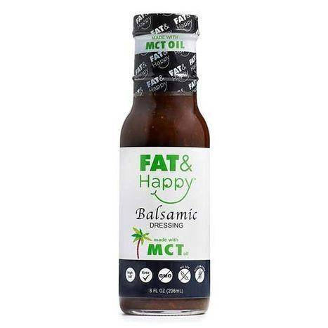 Fat & Happy Balsamic Dressing - 8 Ounces
