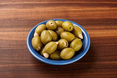Almond Stuffed Green Olives, 1 Pound