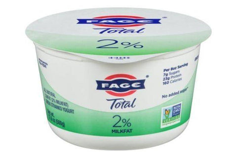 Fage Total Yogurt, Greek Strained, Lowfat - 17.6 Ounces