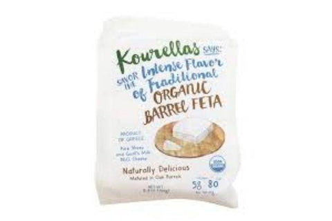 Kourellas Organic Barrel Feta - 5.3 Ounces