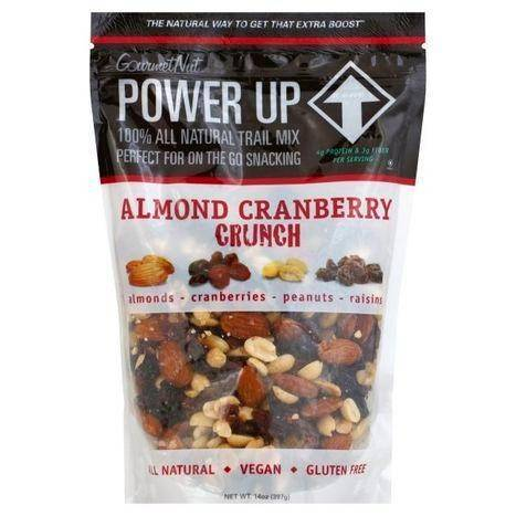 GourmetNut Power Up Almond Cranberry Crunch - 14 Ounces