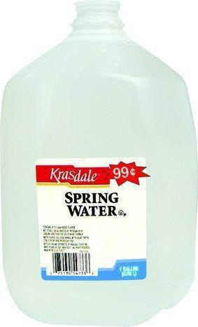 Krasdale Spring Water - 1 Gallon