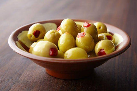 Stuffed Olives with Pimentos, 1 Pound