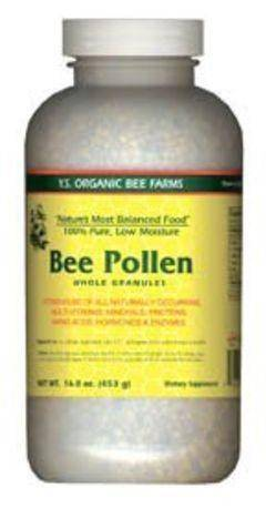 YS Eco Bee Farms Low Moisture Bee Pollen Whole Granules - 16 Ounces