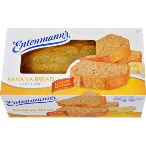Entenmann's Banana Bread Loaf Cake