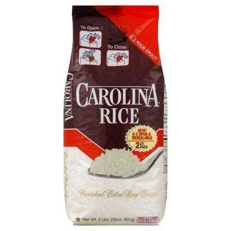 Carolina Rice, Enriched Extra Long Grain - 2 Pounds