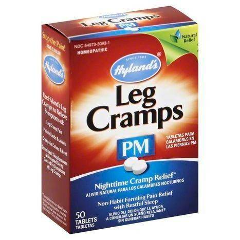 Hylands Leg Cramps, 194 mg, PM, Quick Dissolving Tablets - 50 Each