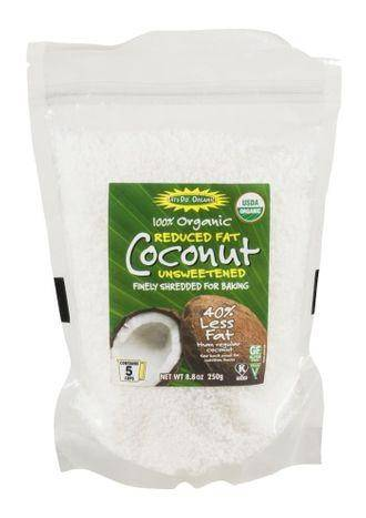 Let's Do...Organic Reduced Fat Unsweetened Coconut