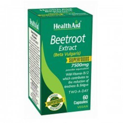 HealthAid Beetroot Extract - 60 Capsules