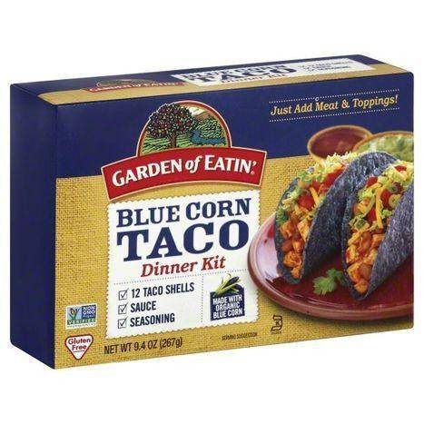 Garden of Eatin Dinner Kit, Blue Corn Taco - 9.4 Ounces