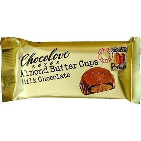 Chocolove Milk Chocolate, Almond Butter Cups - 2 Each